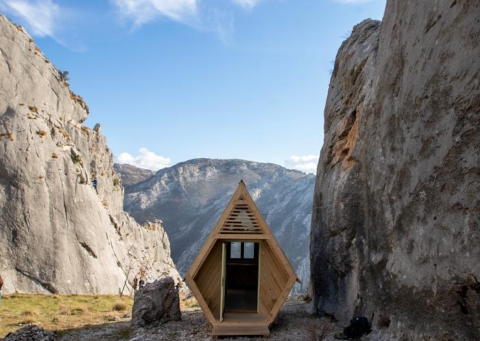 Bh. arhitektica potpisuje dizajn ovog drvenog skloništa u Blagaju