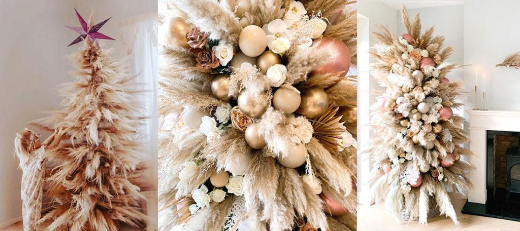 Božićno drvce od pampasa: novi trend u dekoraciji koji izgleda tako dobro!