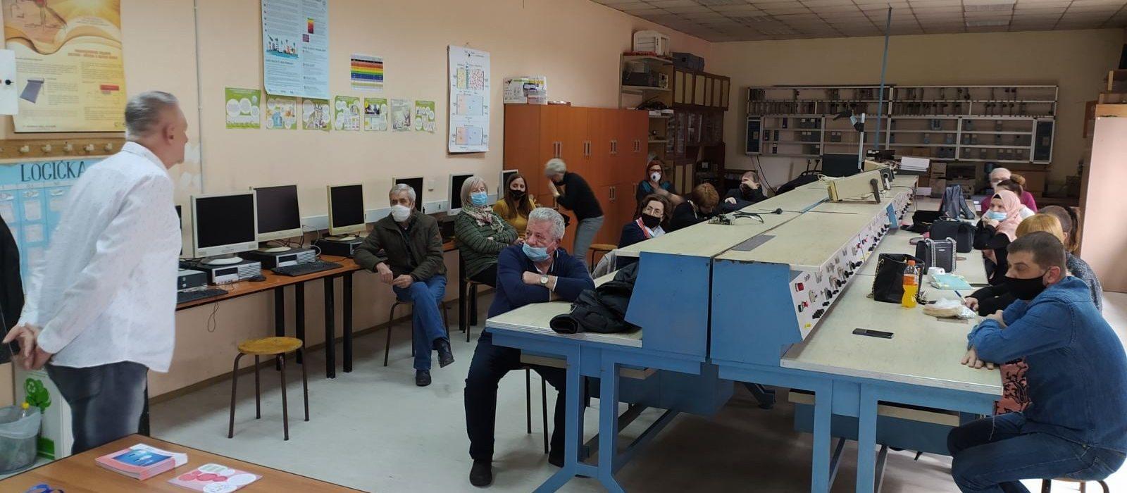 CEE: U Tuzli održana radionica na kojoj je prezentiran Priručnik za profesore i učenike elektro struke