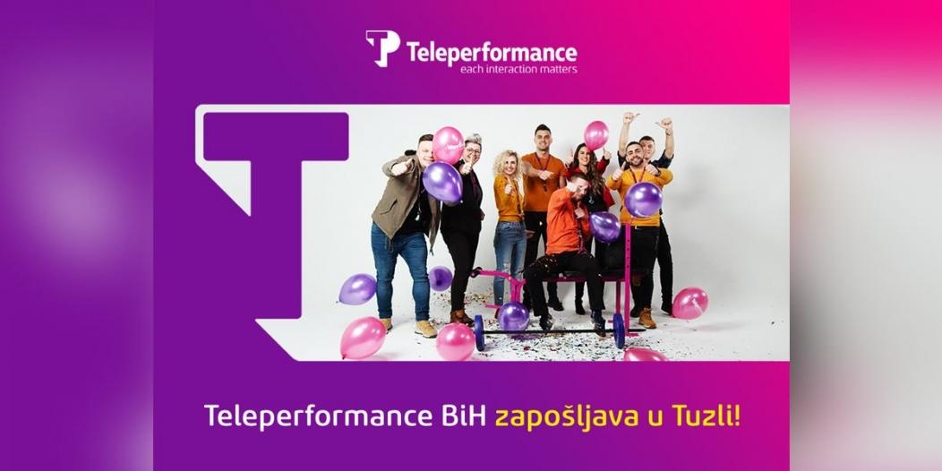 Njemački Teleperformance otvara predstavništvo u Tuzli i zapošljava