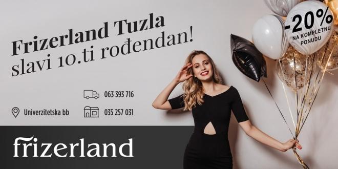 Frizerland poslovnica u Tuzli slavi svoj 10. rođendan